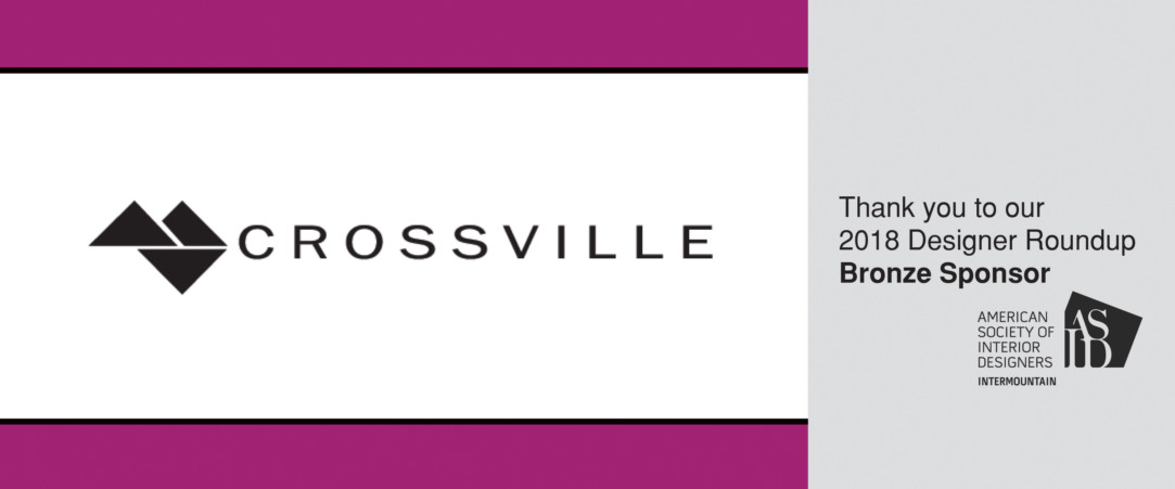 2018 Designer Round Up Bronze Sponsor - Crossville